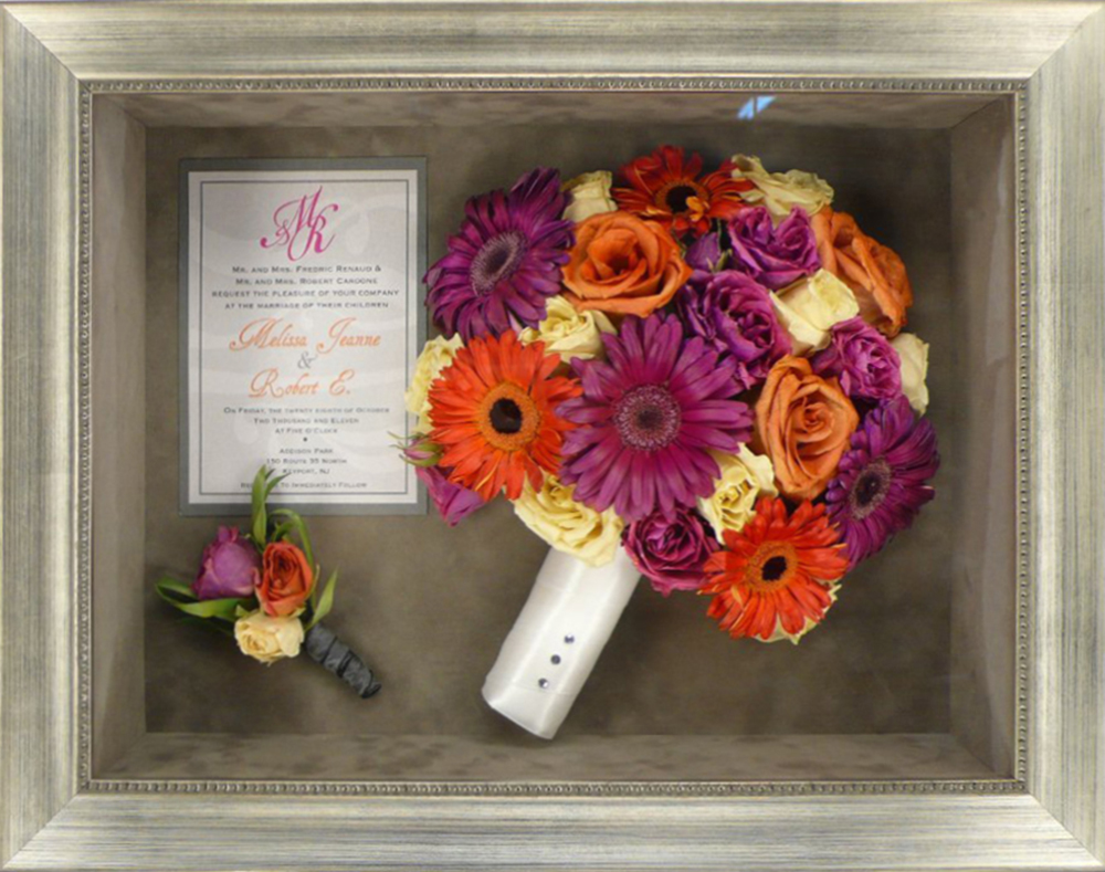 Flower Preservation Bridal Bouquet Memorial Forever Flowers