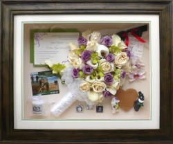 Mixed Flowers in Distressed Wood Storybook Creation