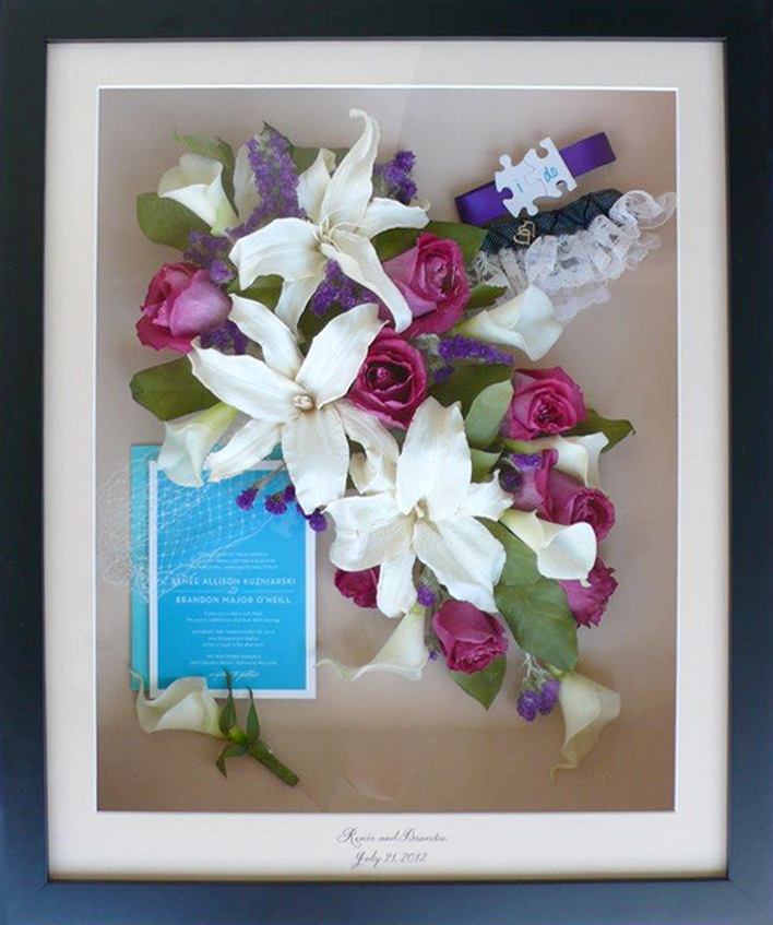 Flower Preservation, Bridal Bouquet & Memorial - Forever Flowers