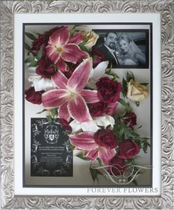 Silver Simpatico frame with Cascading Stargazers